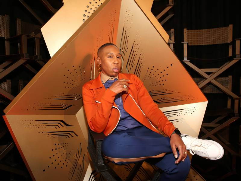 Lena Waithe attends the world premiere of 'Queen & Slim' in Hollywood.