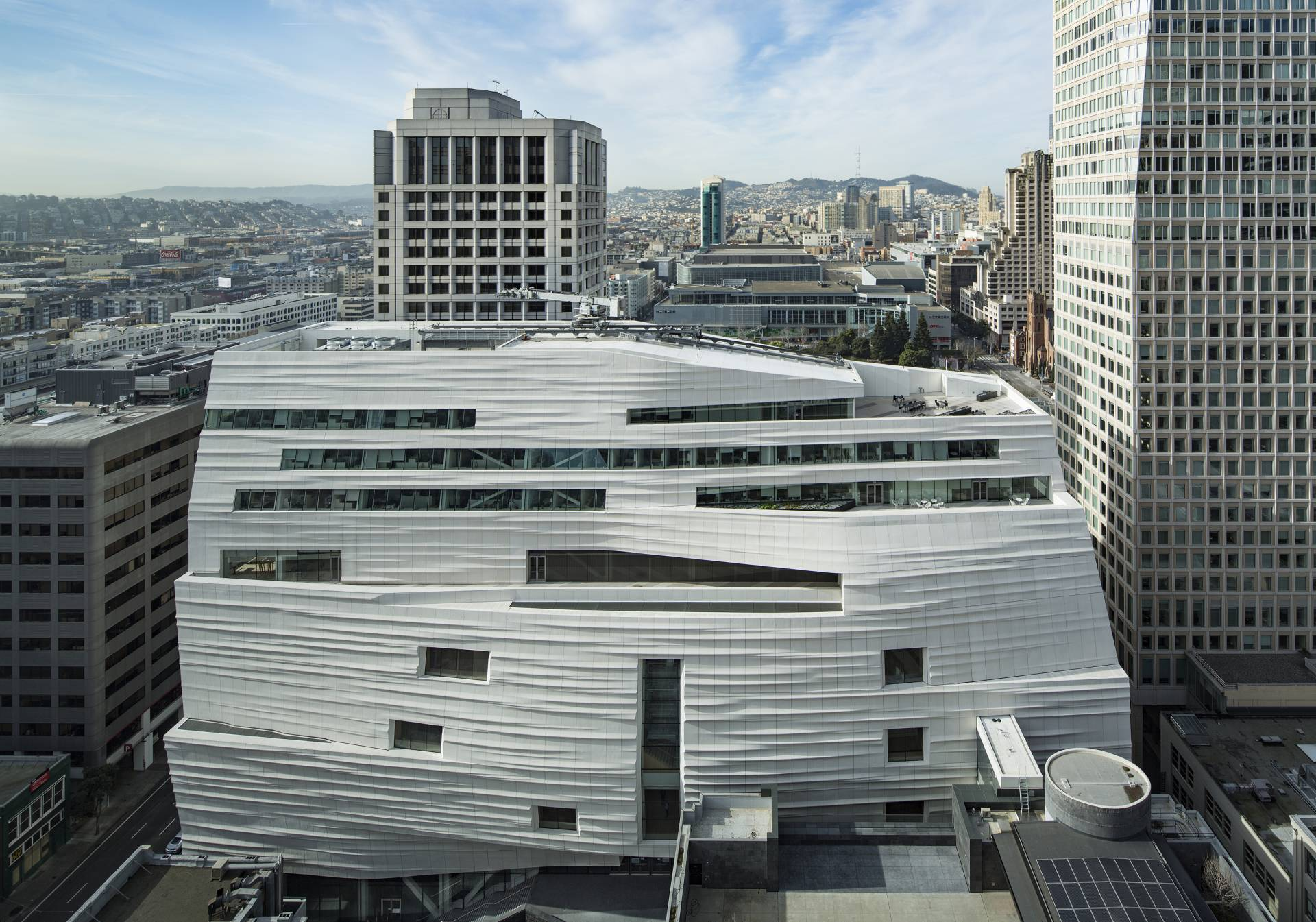 Snøhetta expansion of the new SFMOMA, 2016.