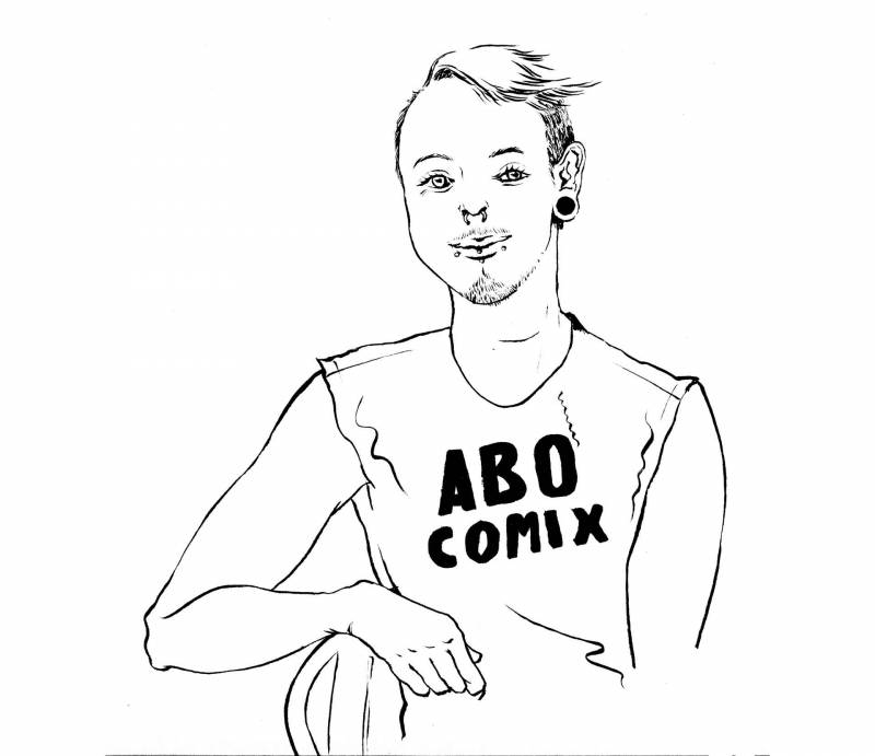 Casper Cendre co-founded ABO Comix in 2017.