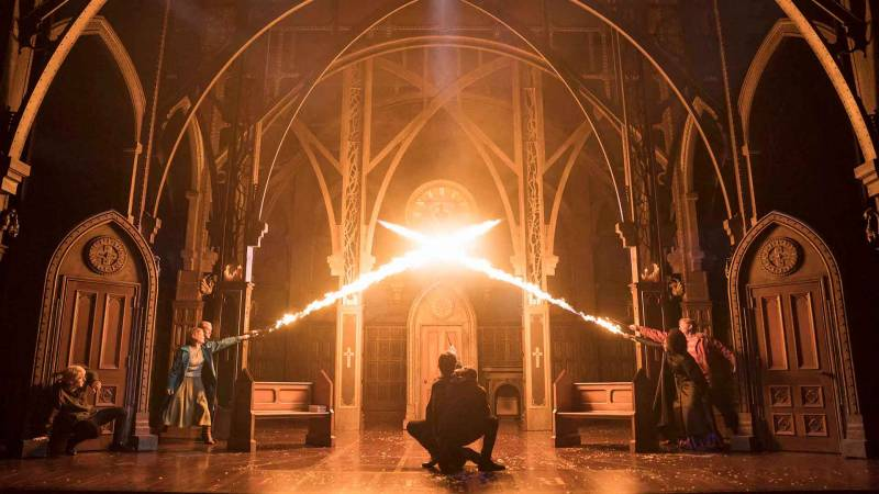 An epic battle against darkness in 'Harry Potter and the Cursed Child' at the Curran Theatre.