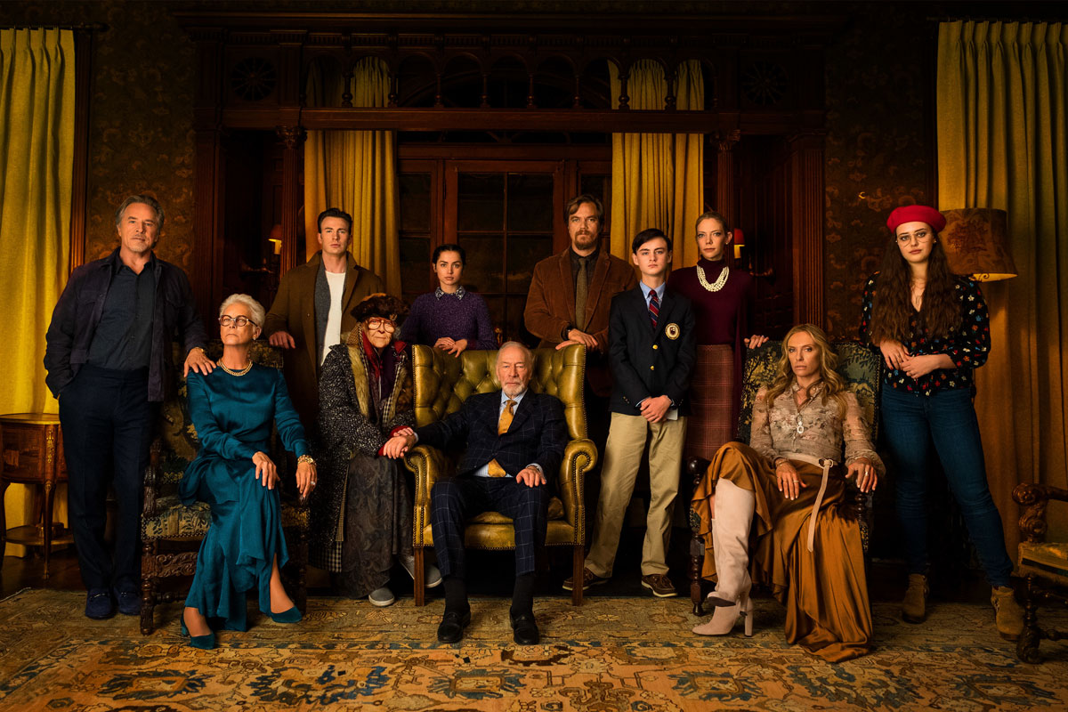 Group portrait of the cast of 'Knives Out.'