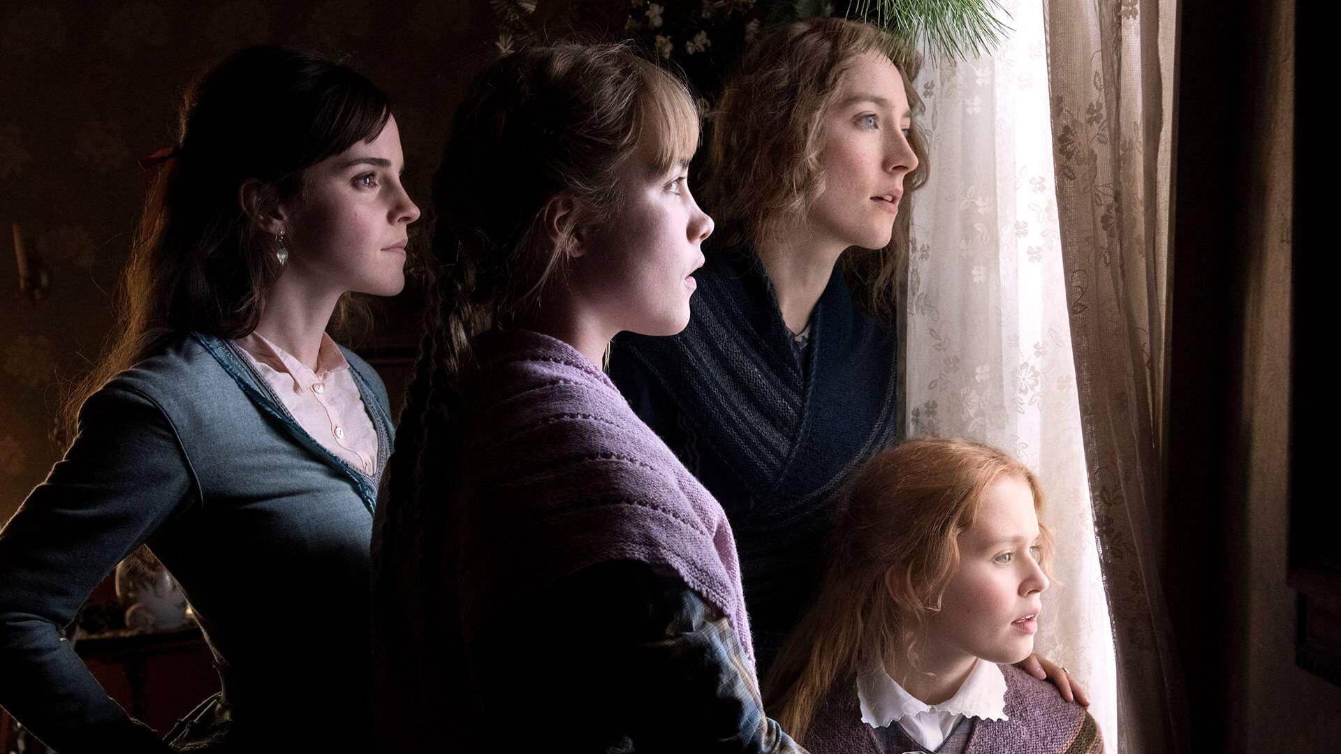 "Emma Watson, Florence Pugh and Saoirse Ronan in Greta Gerwig's 2019 adaptation of ""Little Women."" Sony Pictures."