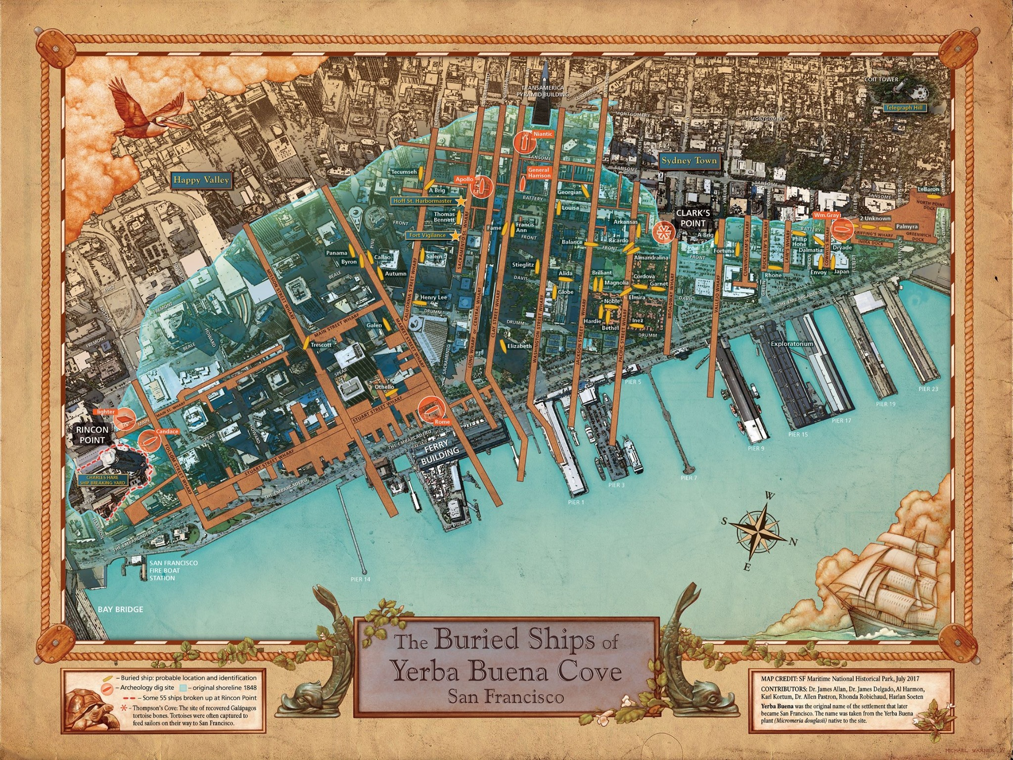 Dig Up Info About the Buried Ships of San Francisco