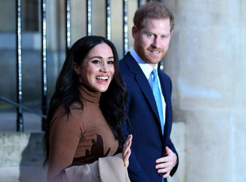 Harry and Meghan Look Super Happy Despite the Queen's Harsh 'Megxit' Terms