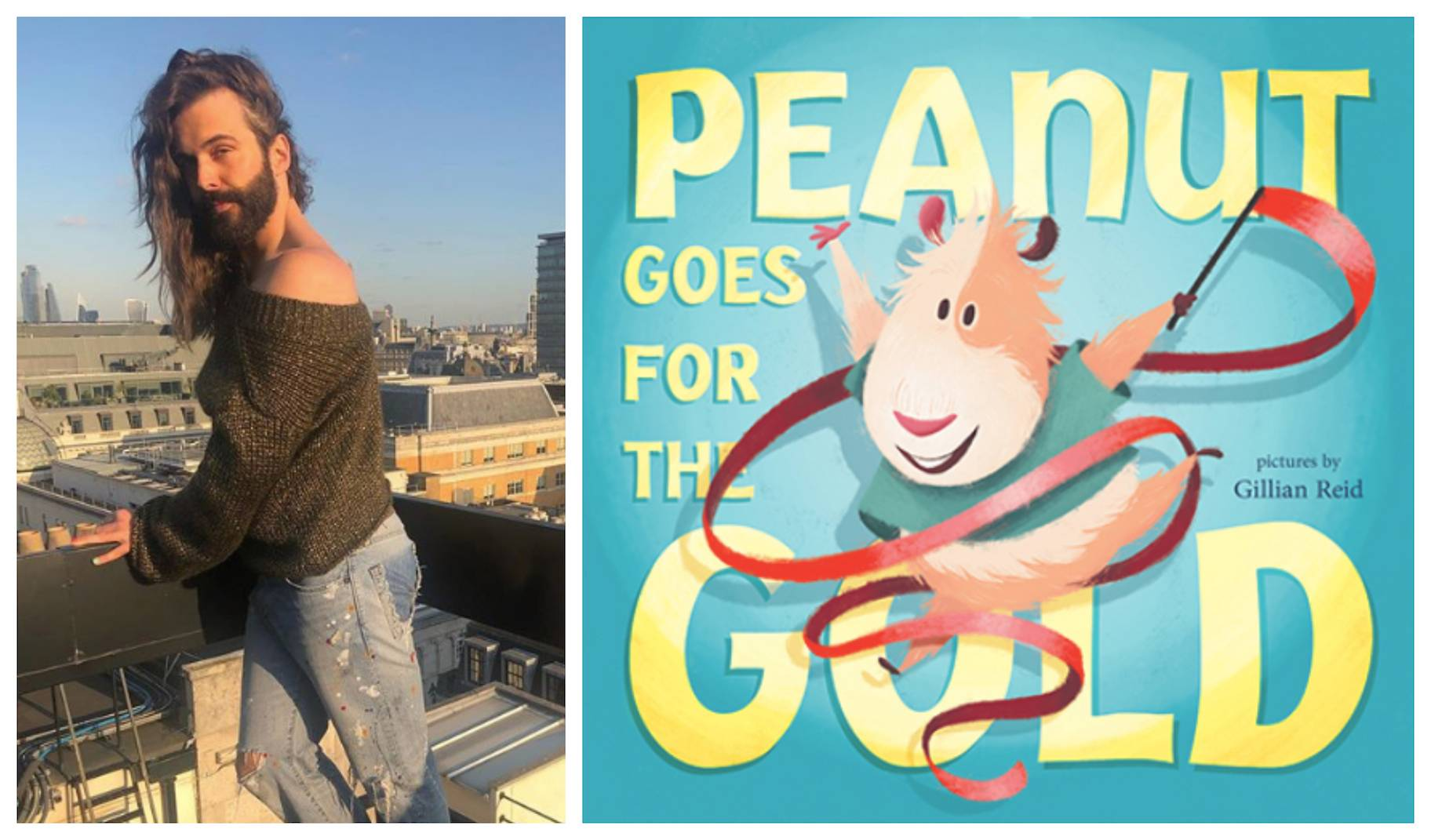 Jonathan Van Ness' New Book is About a Nonbinary Guinea Pig, Obviously