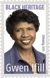 Gwen Ifill stamp.