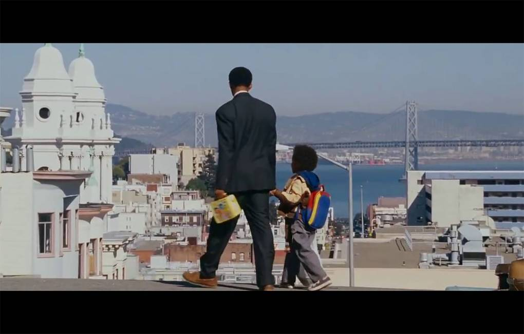 Will Smith and Jaden Smith in 'The Pursuit of Happyneess' (2006) -- but where are they? Columbia Pictures
