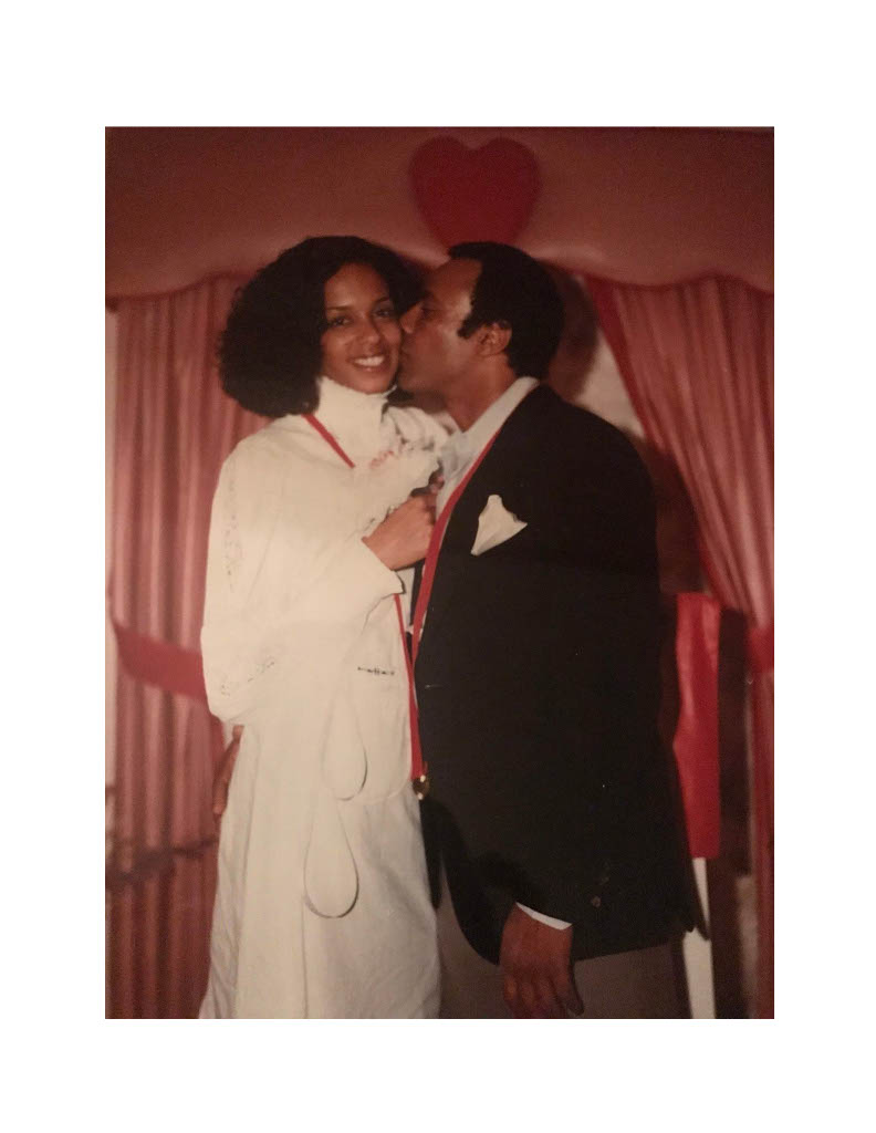 Fredrika and Huey P. Newton on their wedding day.