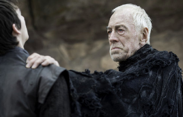 Von Sydow played the Three-Eyed Raven on 'Game of Thrones.'