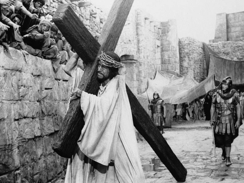 Von Sydow played Jesus in 1965's 'The Greatest Story Ever Told.'