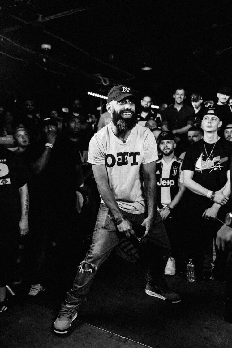 Passwurdz at a rap battle