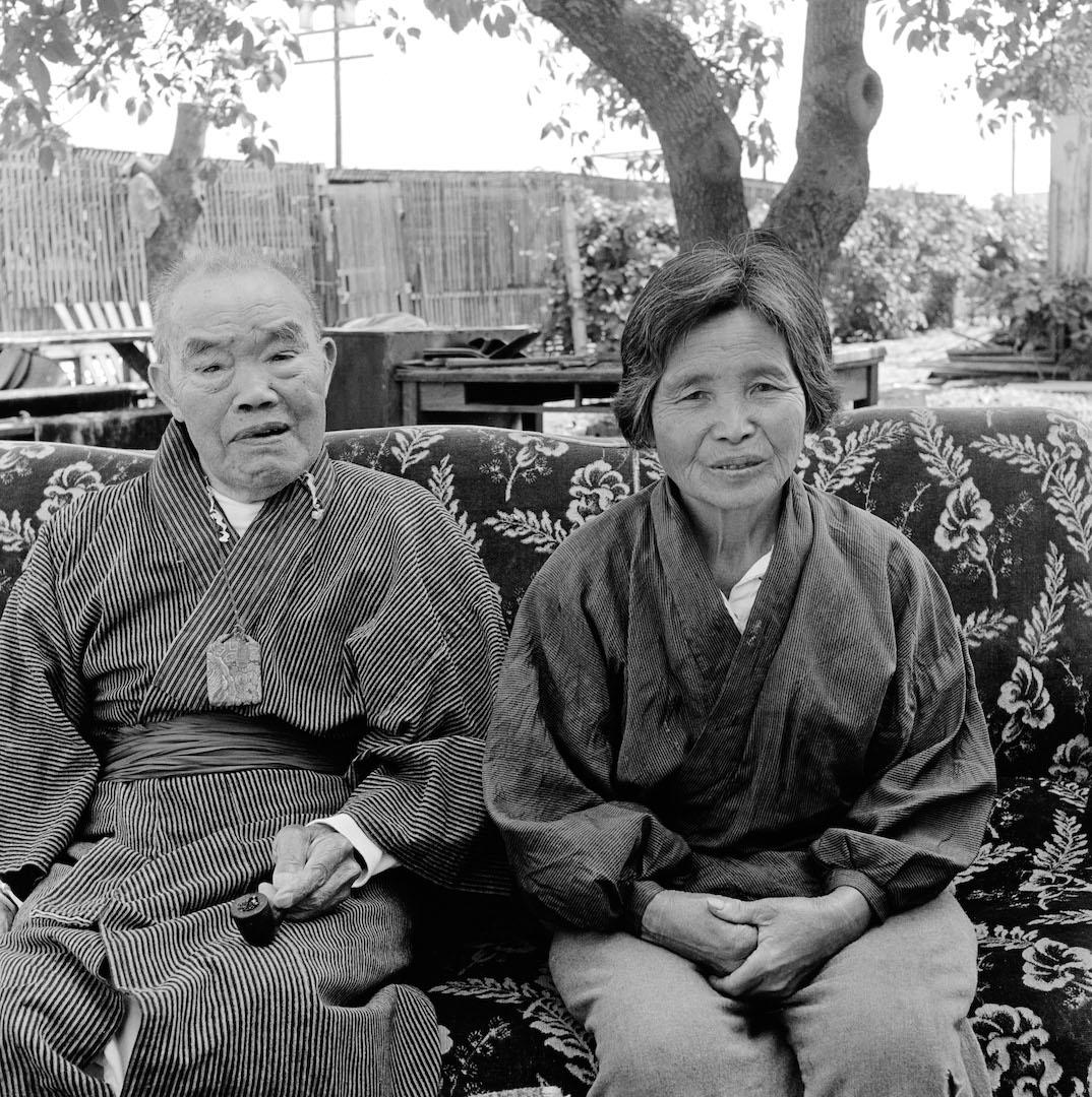 Ruth's parents, Umakichi and Haru Asawa, 1965.
