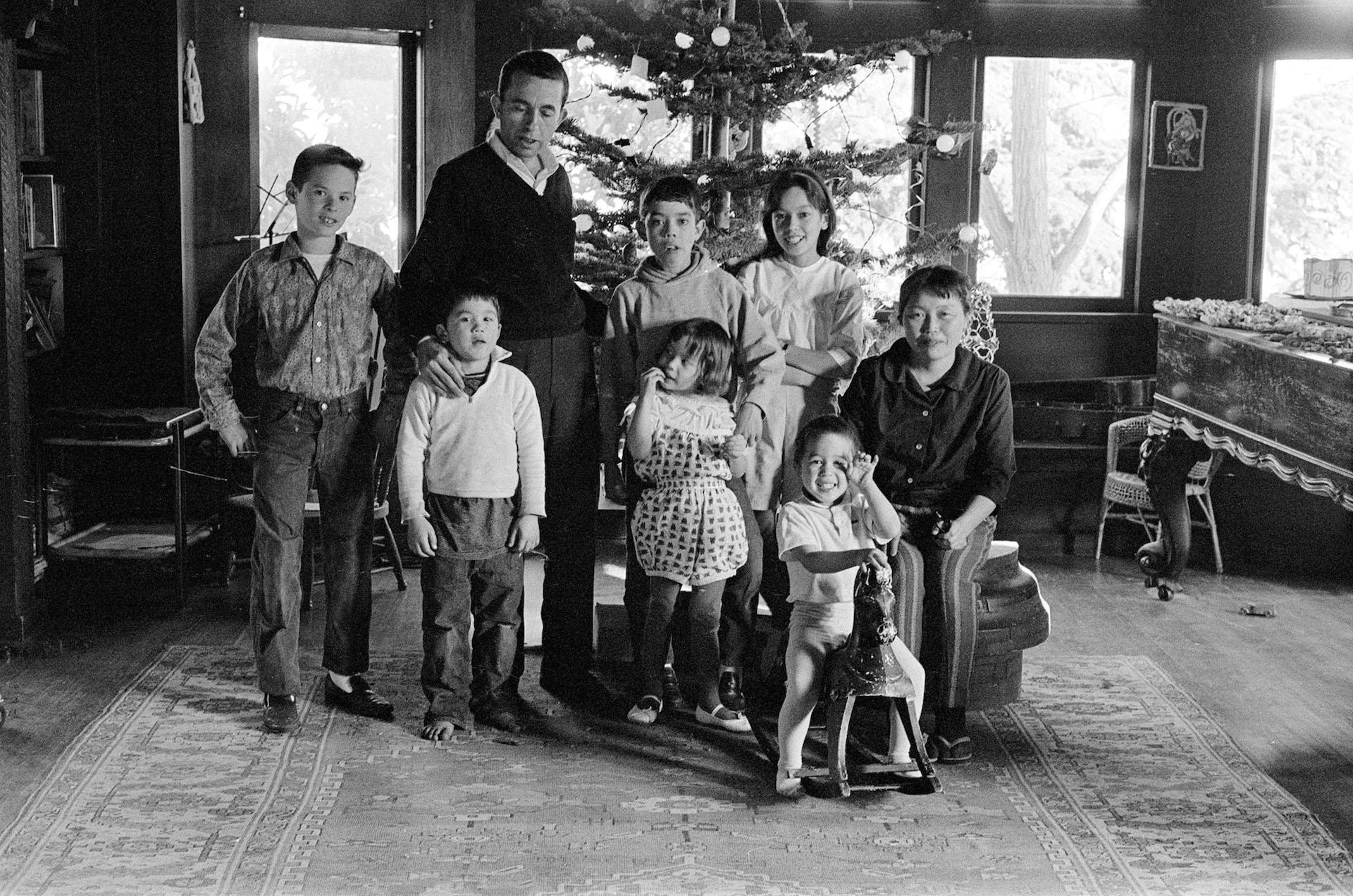 Lanier Family, Christmas 1962.