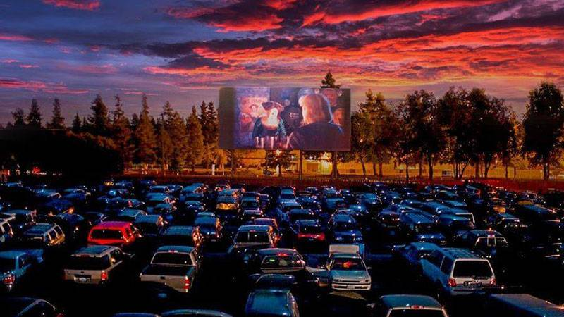 Hooray You Can Go To The Movies Again At A Drive In Theater Kqed