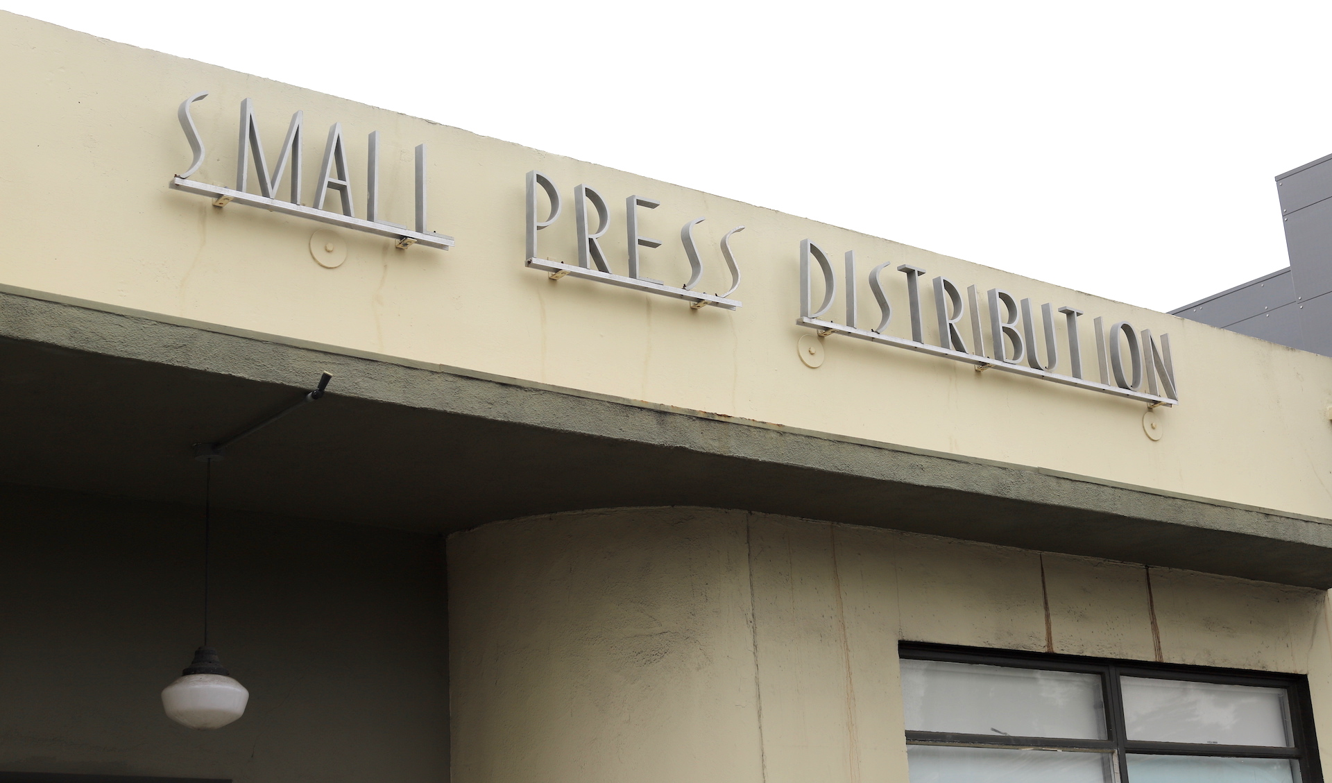 Small Press Distribution, founded in 1969, has operated out of this Berkeley warehouse since 1995.