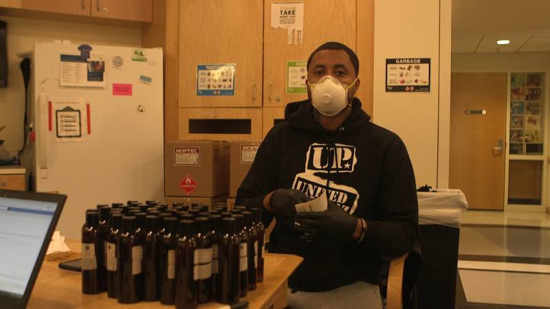 Rapper and actor Jamal Trulove leverages his star-power to serve his community in the midst of the COVID-19 pandemic.
