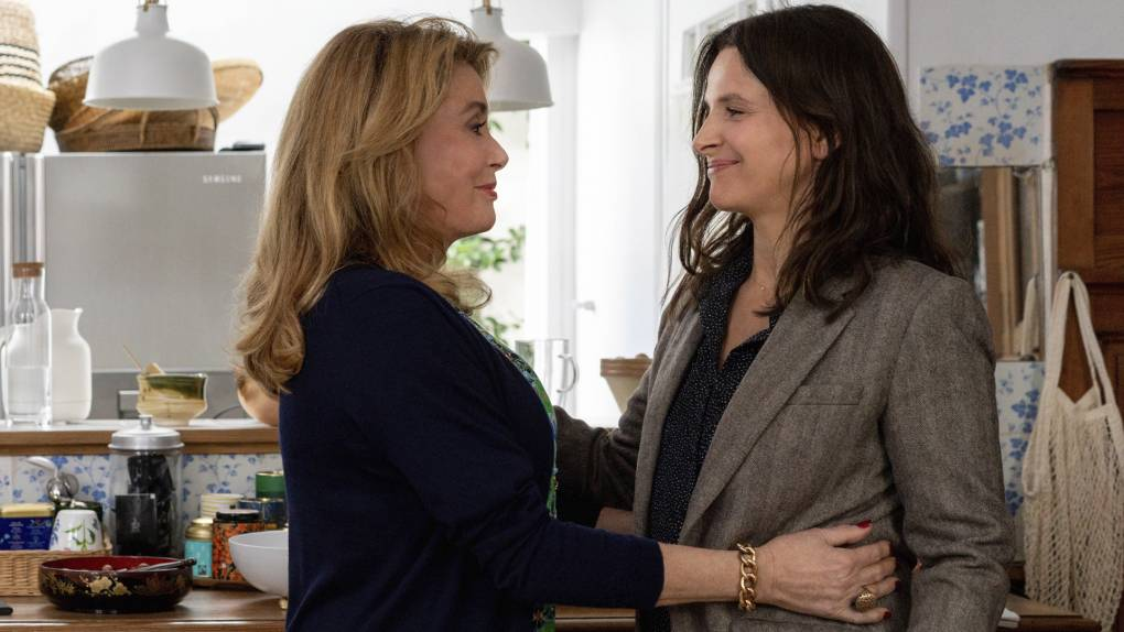 'The Truth' Taps Our Nostalgia for Deneuve, Binoche and Their On-Screen Personas   KQED