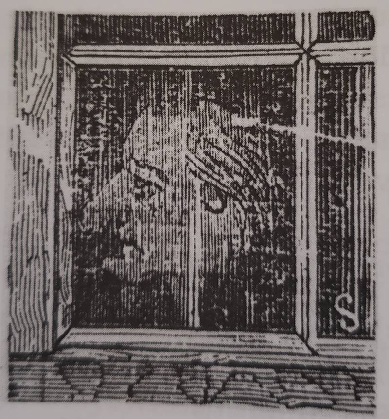 Ghost window number two, as presented in the San Francisco Chronicle on Saturday, Dec. 10, 1871.