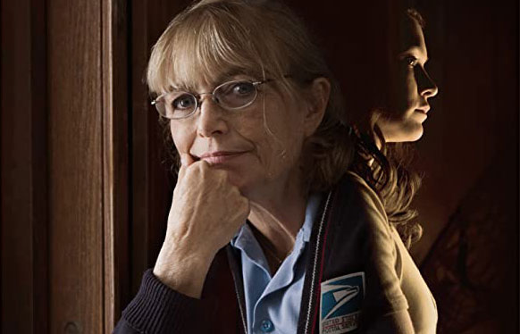 Karen Allen stars in 'Colewell' as Nora, a postmaster who faces solitude and her own past.