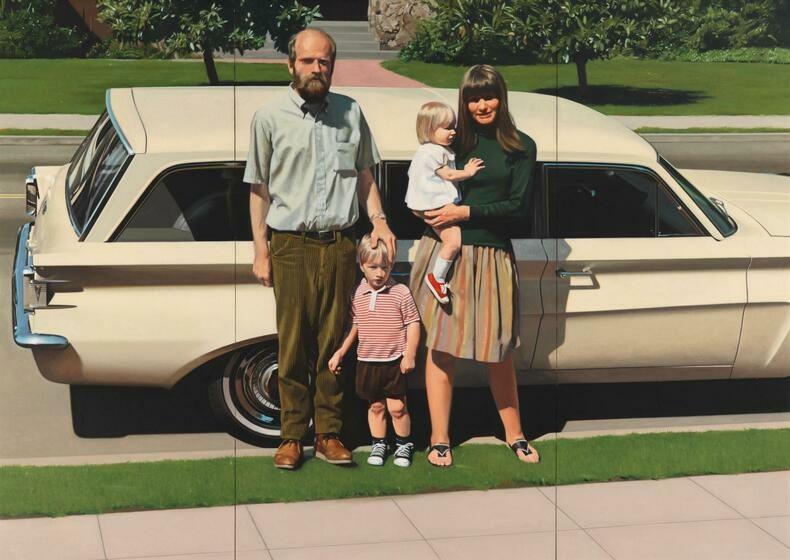 Robert Bechtle, ''61 Pontiac,' 1968–1969.