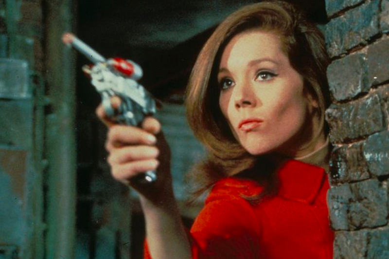 Diana Rigg starred as Emma Peel in 'The Avengers' between 1961 and 1969.