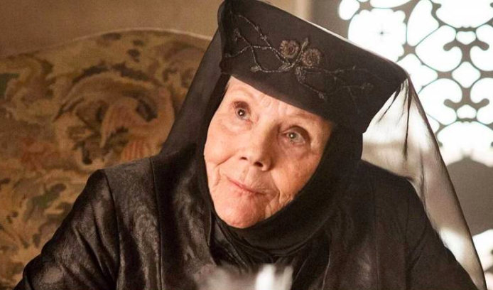 Diana Rigg as Olenna Tyrell in 'Game of Thrones.'