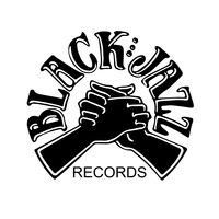 The Black Jazz logo featured a soul-brother handshake.