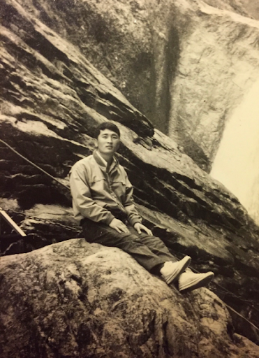 Kee Sun Chung as a young man in Korea, before moving to New York City.