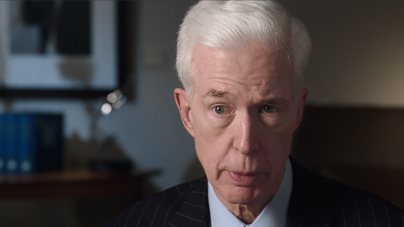 Former California governor Gray Davis, who was recalled by voters, in 'The First Angry Man.'