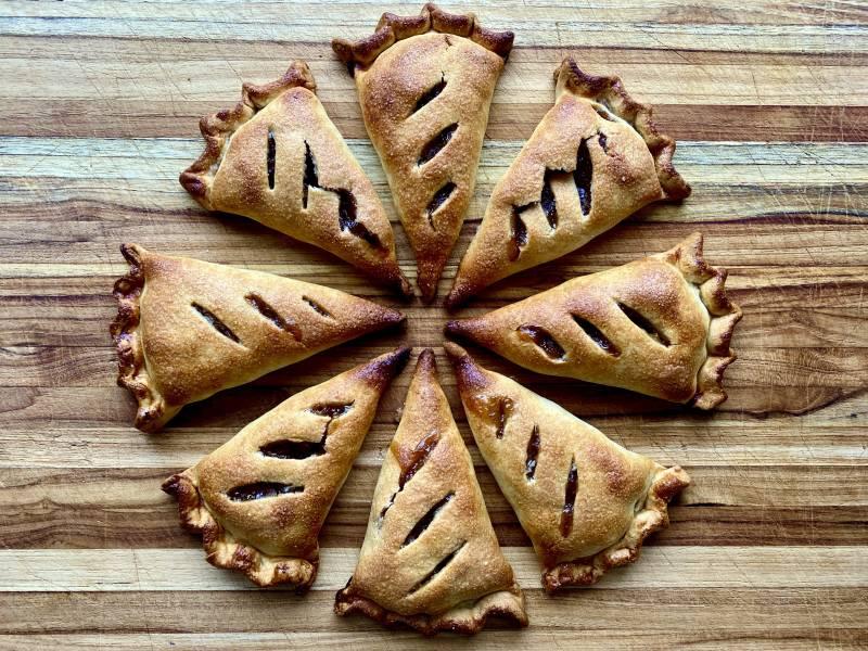 Chef Sohla El-Waylly's apple (hand) pie.