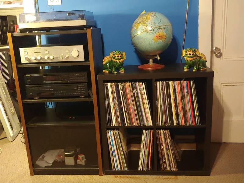 Matthew Levitt's record collection