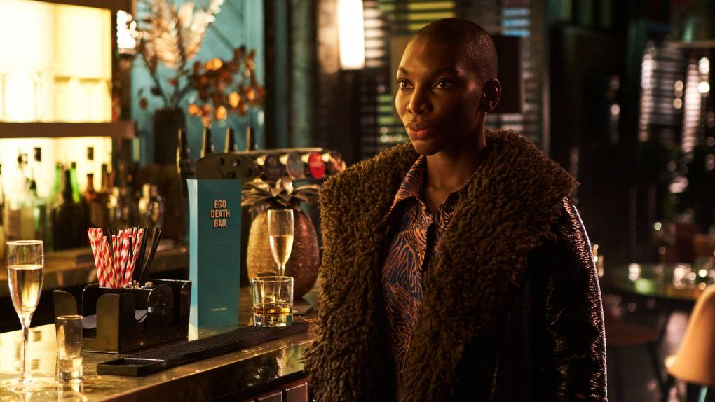 """Michaela Coel, starring in her HBO series 'I May Destroy You.' All four critics agreed it was """"one of the most exciting of 2020."""""""