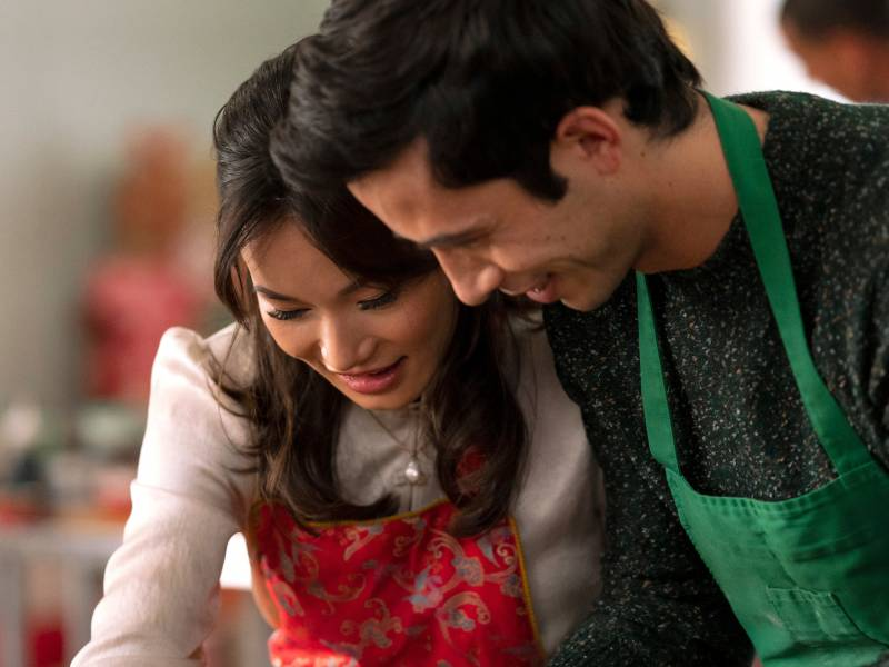 'A Sugar & Spice Holiday,' starring Jacky Lai and Tony Giroux, is Lifetime's first Chinese American Christmas romantic comedy.