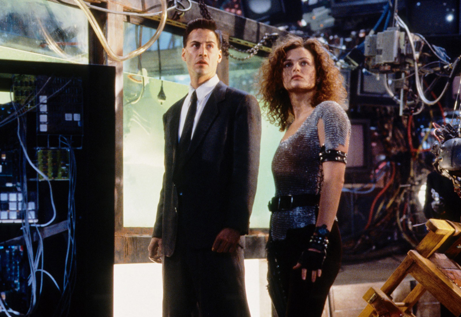 All the Things 1995's 'Johnny Mnemonic' Got Right About Life in 2021 | KQED