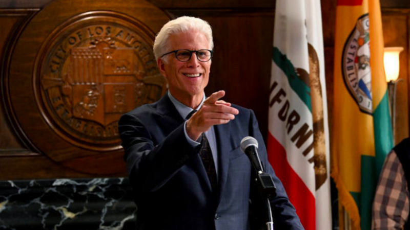 Ted Danson playing a retired millionaire who becomes mayor of Los Angeles in 'Mr. Mayor.'