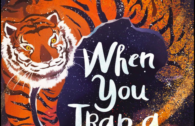 The cover of 'When You Trap a Tiger' by Tae Keller. The book won the 2021 Newbery medal.