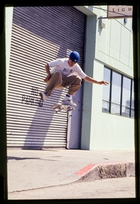 Mike Carroll in action. The skateboarder started reading 'Thrasher' as a kid and was Skater of the Year in 1994.
