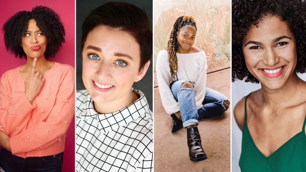 Kaili Turner, Morgan Van Dyne, Alexi Bolden and Gabriela Castillo receive 'SNL'/Second City scholarships.