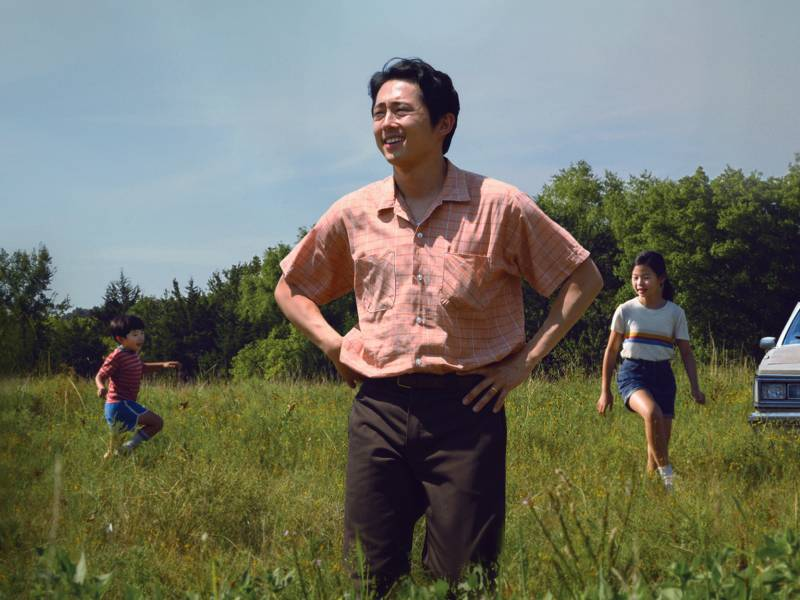 Jacob (played by Steven Yeun) moves his family from California to a farm in rural Arkansas in 'Minari.'