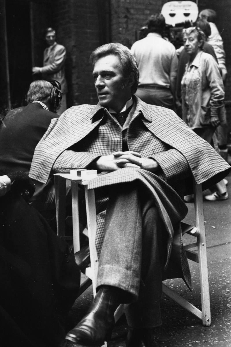 Christopher Plummer as Sherlock Holmes in 1978.