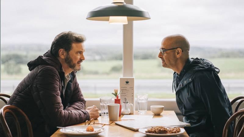 Sam (Colin Firth) and Tusker (Stanley Tucci) take one last trip in Harry Macqueen's 'Supernova.'