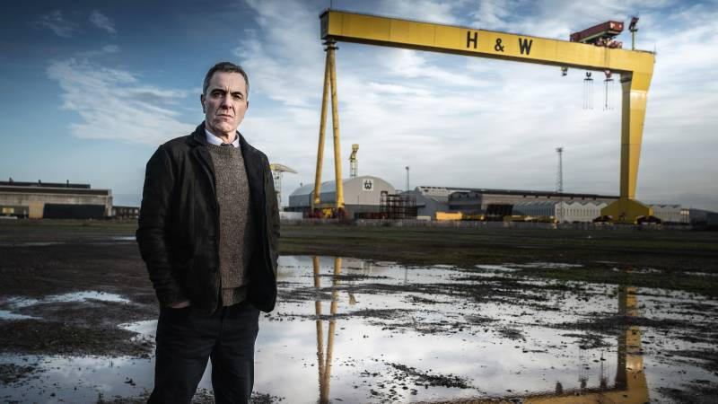 James Nesbitt plays an Irish police detective whose investigation into an apparent suicide opens up historical wounds in 'Bloodlands' (streaming on Acorn TV beginning March 15).