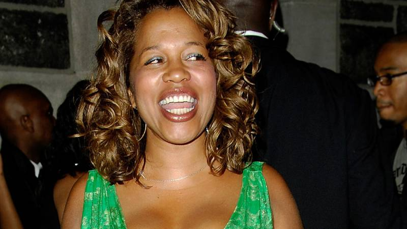 Danyel Smith at a Vibe Magazine party in New York City in 2008.
