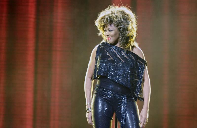 Tina Turner performs in Berlin on Jan. 26, 2009.