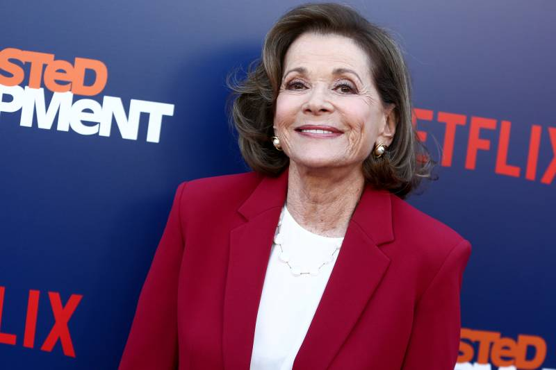 Jessica Walter at the premiere of Netflix's 'Arrested Development' Season 5 in 2018.
