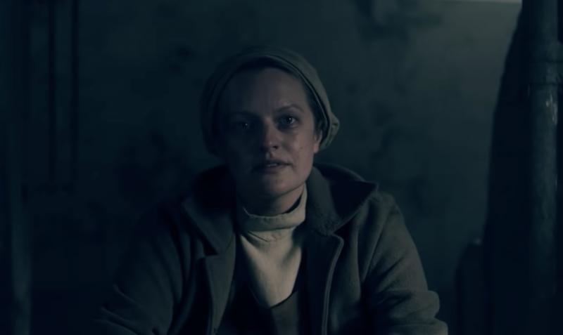 June (Elisabeth Moss) goes underground in Season 4 of 'The Handmaid's Tale.'