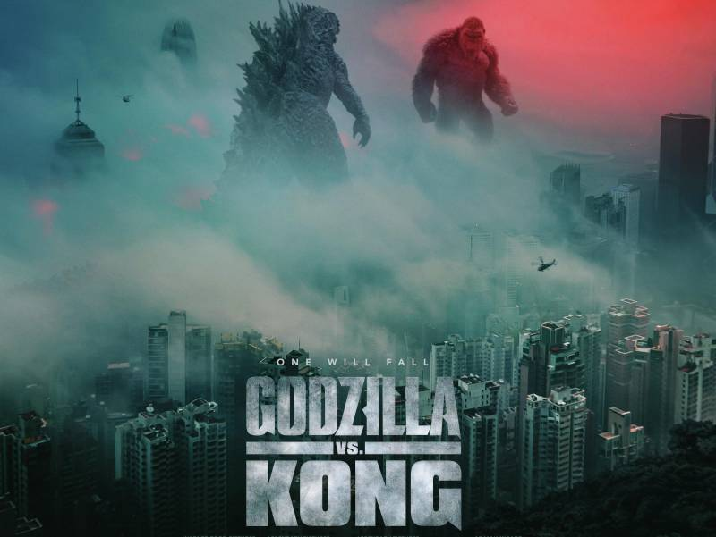 In 'Godzilla vs. Kong,' the Titans meet up and face off.