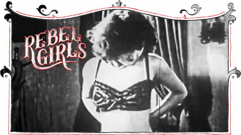 The anonymous woman above starred in an erotic featurette film in the 1920s. Like her, and most of the sex workers of the time, Alice Smith's true identity remains unknown.