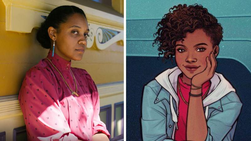 Chinaka Hodge (L) has been tapped for Disney's 'Ironheart' series.