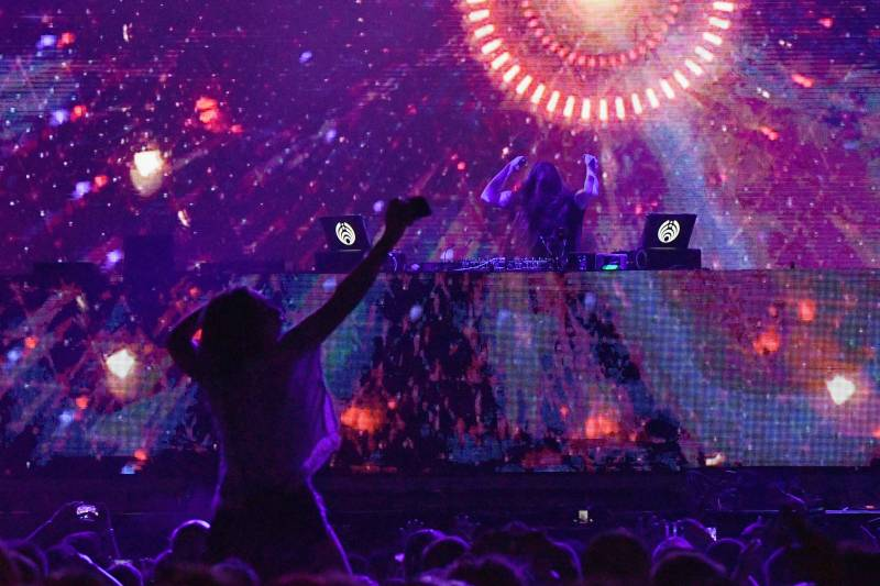 Bassnectar performs at the 2017 Meadows Music and Arts Festival, New York City.